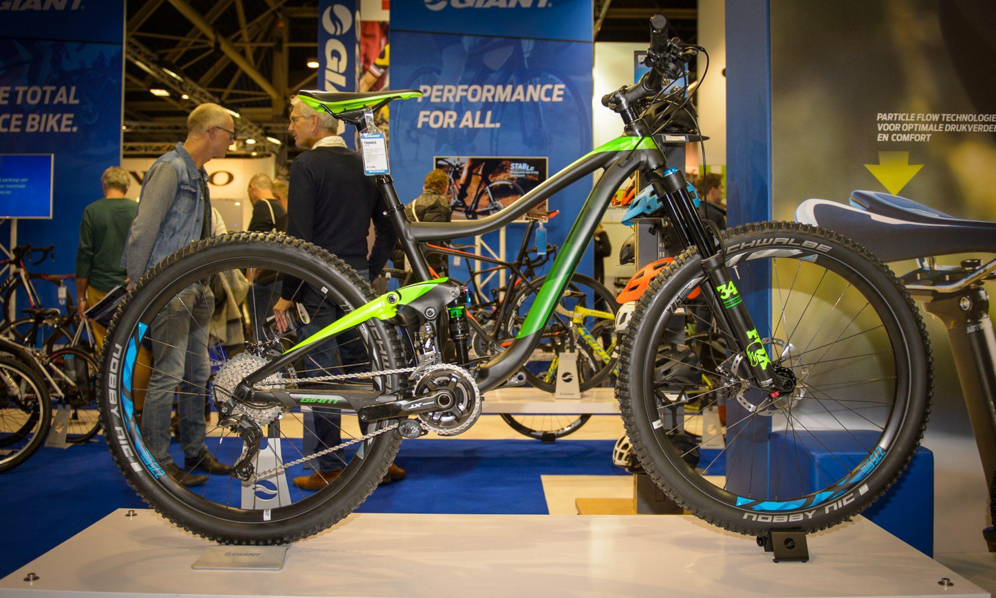 Top-5 trailbikes op de Bike Motion 2016