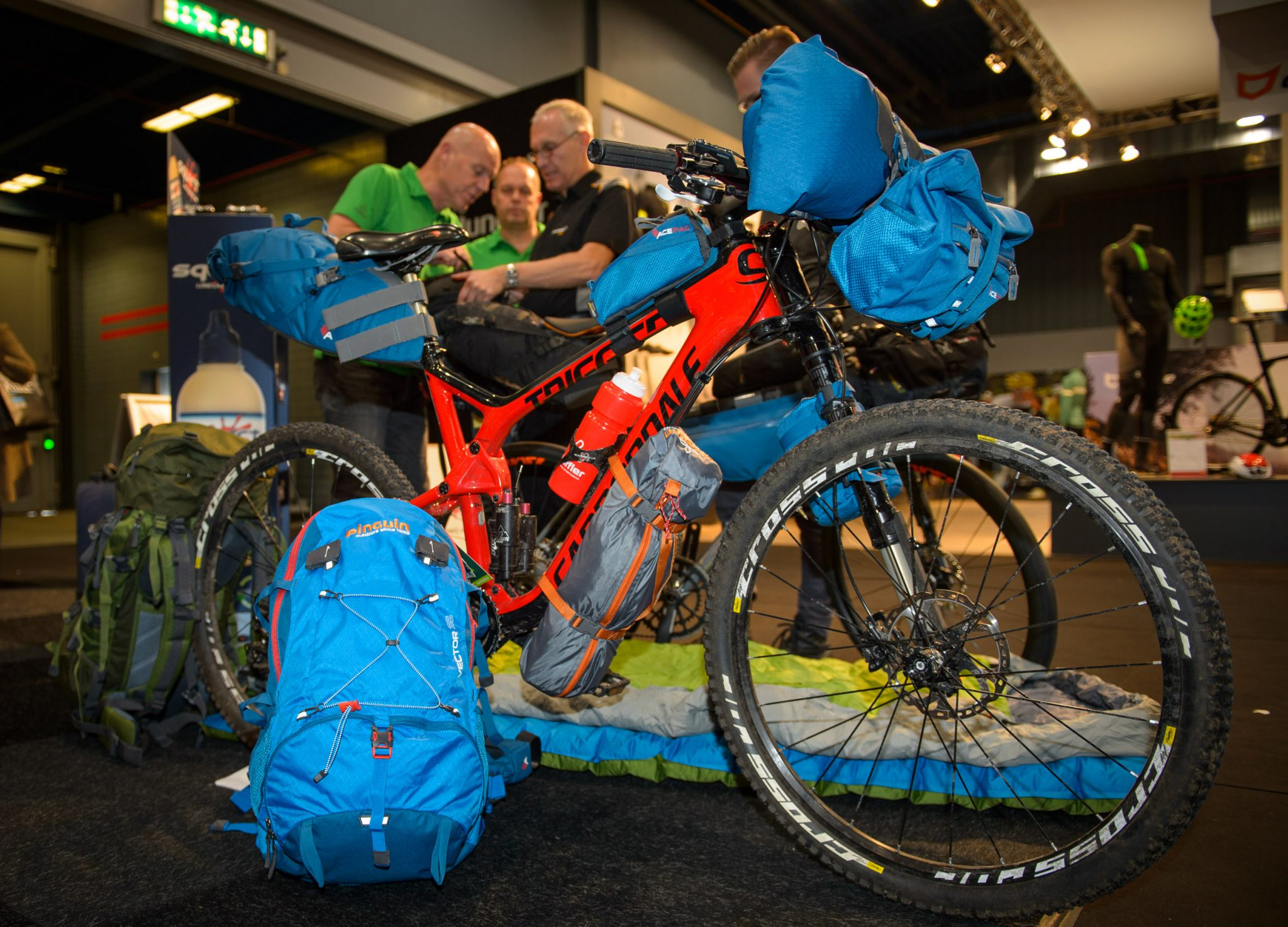 Top-8 Bikepacking items op de Bike Motion 2016
