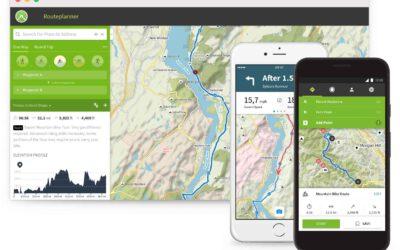 Toonaangevende outdoor-app Komoot vanaf nu in het Nederlands